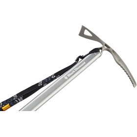 Black Diamond Raven Ice Axe with Grip 65cm gray